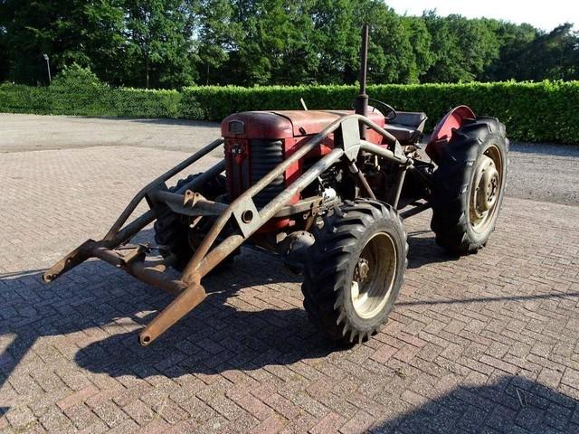Massey Ferguson 65 4wd Multipower, loader