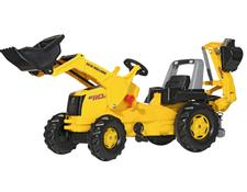 813117 Rolly Toys New Holland Construction  mit Junior Lader und Backhoe