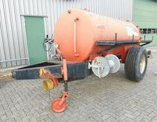 Watertank 5000 liter, met hogedrukpomp