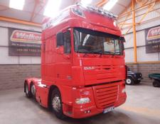 Daf XF105 510 SUPERSPACE EURO 5, 6 X 2 TRACTOR UNIT - 2007 - FX07 AYM