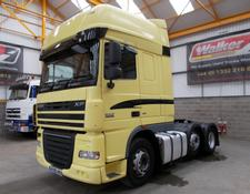 Daf XF105, 460 SUPERSPACE EURO 5, 6 X 2 TRACTOR UNIT - 2009 - AY09 AKU