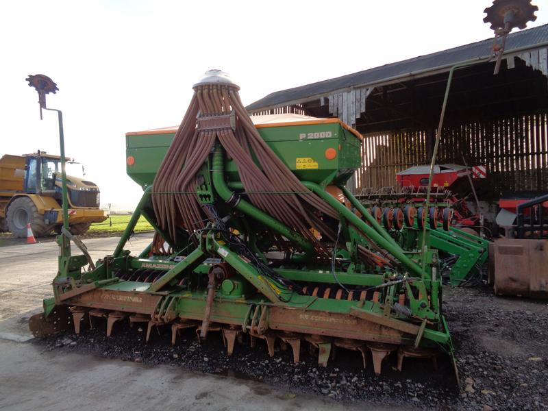 Amazone 4m Combination Disc Drill